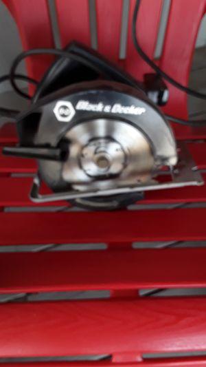 Black & Decker Circular Saw for Sale in Kennewick, WA