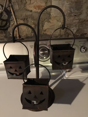 Halloween bronze candle holder for Sale in Lexington, KY