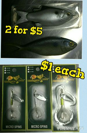 Fishing lures for Sale in Romeoville, IL