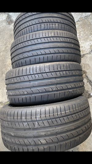 Used 255-35R19 continental tires 99% tread bmw , Mercedez Audi for Sale in San Diego, CA