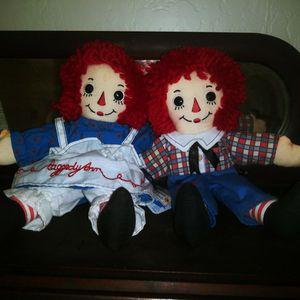 Raggedy Ann & Andy Dolls for Sale in Glendale, AZ
