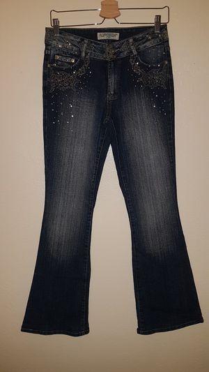 flare jean rhinestones for Sale in San Francisco, CA