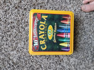 Crayola crayons. 40 anniversary for Sale in Knoxville, TN
