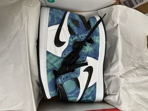 "Air Jordan 1 ""Tie Dye"" Size: 11W/9.5M for Sale in Wood Village, OR"