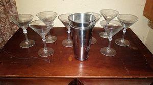 Martini glasses for Sale in Hesperia, CA