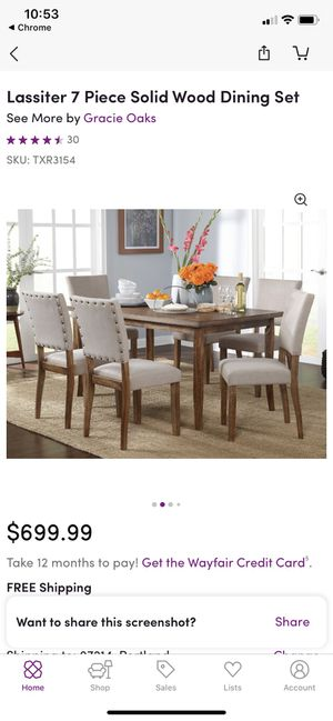 7-Piece Dining Set for Sale in Hillsboro, OR
