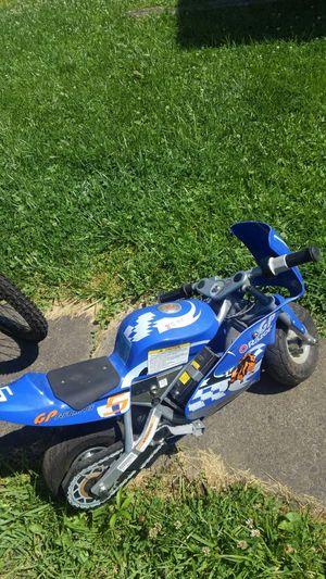 Razor elec motorcycle for Sale in Clarksburg, WV