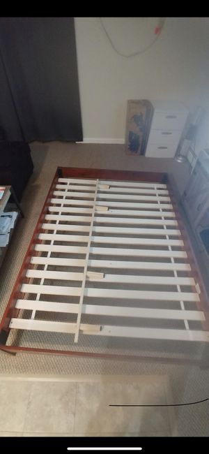Full size bed frame for Sale in Revere, MA