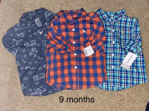 Carter's long sleeve shirts for Sale in Rex, GA