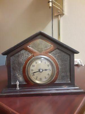 Rare vintage swiss reform mantel clock for Sale in Richmond, VA