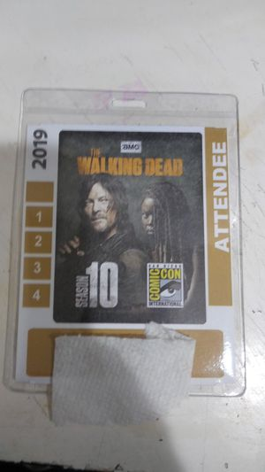 SDCC 2019 SUNDAY BADGE for Sale in Buena Park, CA