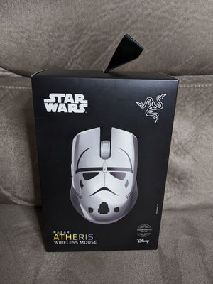 Razer Atheris Ambidextrous Wireless Mouse: 7200 DPI Optical Sensor - USB Wireless Receiver & Bluetooth Connection - Stormtrooper Limited Edition for Sale in Houston, TX