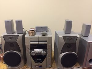 Sony Stereo system for Sale in Bloomfield Hills, MI