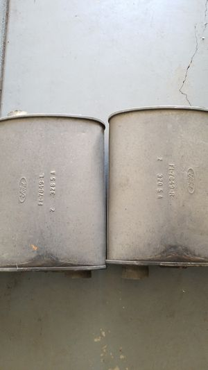 2 stock mustang mufflers for Sale in Amarillo, TX
