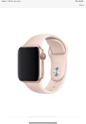 Pink sand Apple Watch 5 sport band for Sale in VLG WELLINGTN, FL