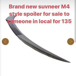 M4 style Spoiler For Bmw F Series GC for Sale in Queens, NY