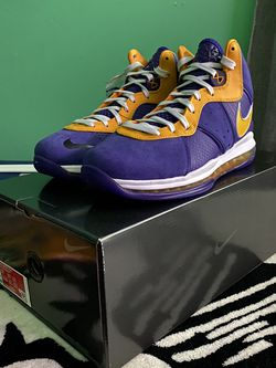 Nike Lebron 8 Lakers Size 11 for Sale in Hialeah,  FL