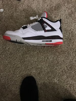 Eight out of 10 condition air Jordan fours $80 for Sale in Montgomery Village, MD