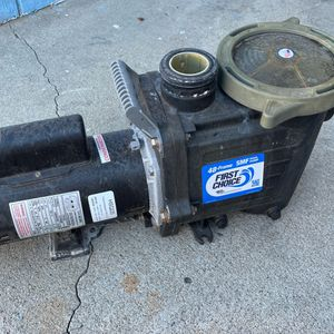 2HP Waterway Motor And Pump Complete With Unions for Sale in Lakeside, CA