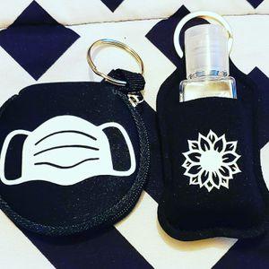 Custom mask holders and hand sanitizer holders for Sale in Denver, CO