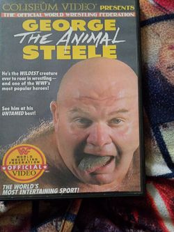 Wwf George the Animal Steele Dvd for Sale in Chicago,  IL