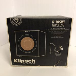"Klipsch wireless Home theater subwoofer 10"" 300 watts for Sale in San Diego, CA"