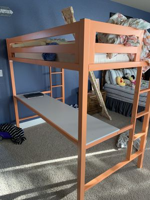 Loft Bed/desk for Sale in Clovis, CA