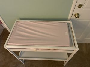 Changing table with pad and cover for Sale in San Jose, CA