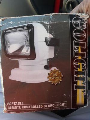GoLight remote controlled portable searlight for Sale in Menifee, CA