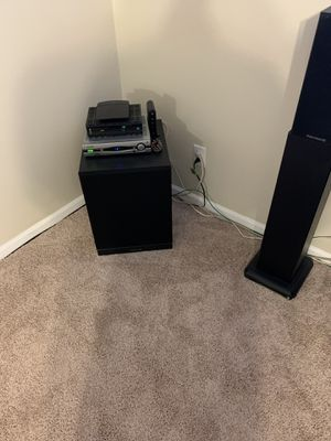 Surround sound system and 50inch flat screen for Sale in Douglasville, GA