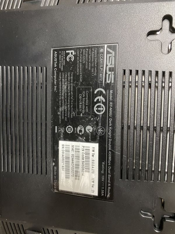 Asus RT-N66U Dual Band WiFi Router