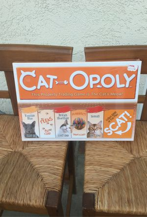 Board game Cat-Opoly (brand new in plastic) for Sale in Los Angeles, CA