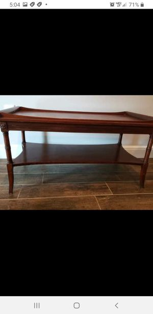 Antique Mid-Century 2-tiered table for Sale in Buda, TX