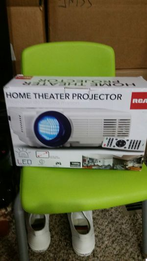 New RCA Home Theater Projector & screen for Sale in Tacoma, WA