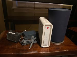 Modem and router bundle for Sale in Lancaster, PA