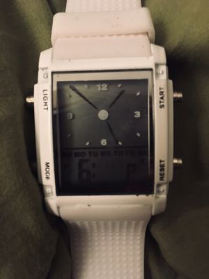 Brand new multi function watch digital display , stop watch & much more . for Sale in Clarence, IA