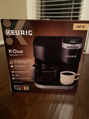 NEW Keurig K-Duo Coffee Maker for Sale in The Woodlands, TX