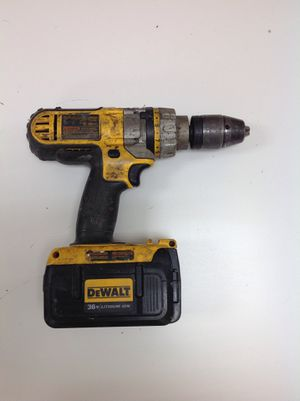 Cordless hammer drill - 36volt lithium ion battery for Sale in Dearborn Heights, MI