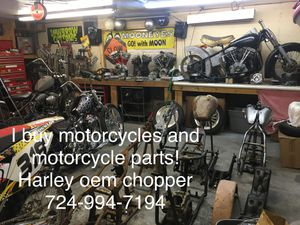 WTB Harley parts motorcycle choppers for Sale in New Kensington, PA