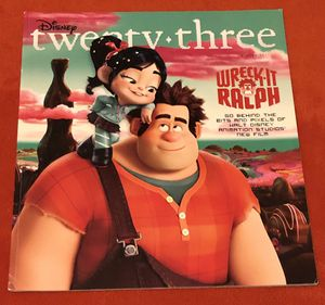 D23 (Disney) Magazine: Winter 2012 for Sale for sale  San Diego, CA