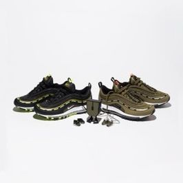 Undefeated Nike Air Max 97 Set New Dead stock Size 11 Kokies Included for Sale in Anaheim, CA