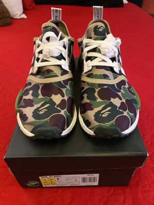 Bape Adidas NMD Size 9 for Sale in Las Vegas, NV