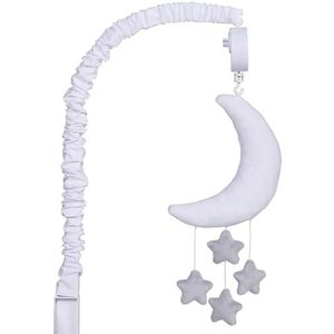 Celestial Baby Crib Musical Mobile - Grey and White Moon and Stars Theme for Sale in Carmel, IN