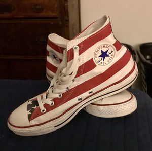 American Flag Converse hi-tops for Sale in Hyattsville, MD
