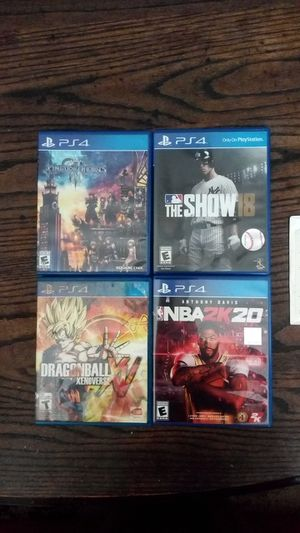 NBA2K20, Dragonball Xenoverse XV, Kingdom Hearts 3, MLB The Show18, Destiny 2 for Sale in Beaverton, OR