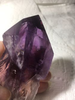 """Beauty Amethyst Wand 6""""x4"""" top 3"""" bottom of stone used for Raki for Sale in Somerdale,  NJ"""