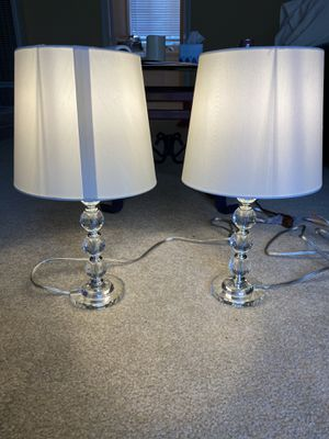 Clear Glass Table Lamps for Sale in Los Angeles, CA