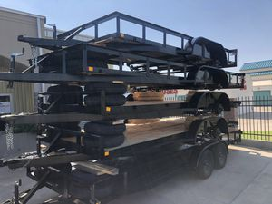 2019 brand new trailer and car hauler for sale 16 18 20 ft finance available for Sale in Odessa, TX