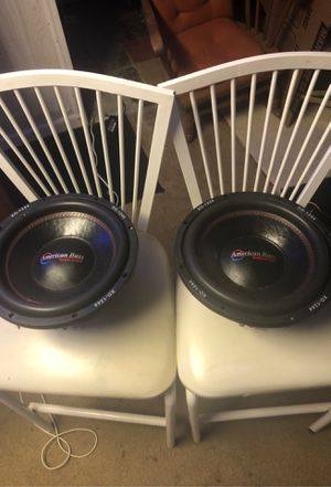 12 inch American Bass Subwoofers for Sale in Maple Heights, OH