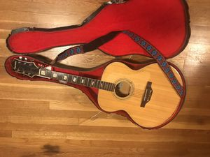 Guitar and case for Sale in Harrisonburg, VA